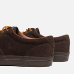 Мужские кеды Polo Ralph Lauren Vaughn Dark Brown фото- 6