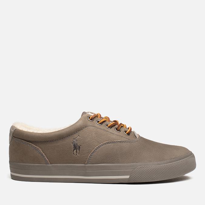 Polo Ralph Lauren Vaughn S Plimsoles Charcoal Grey