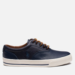 Мужские кеды Polo Ralph Lauren Vaughn Saddle Newport Navy фото- 0
