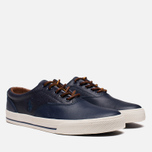 Мужские кеды Polo Ralph Lauren Vaughn Saddle Newport Navy фото- 1