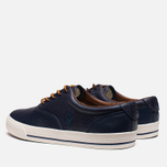 Мужские кеды Polo Ralph Lauren Vaughn Saddle Newport Navy фото- 2