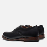 Red Wing 9043 Beckman Oxford Shoes Black photo- 2