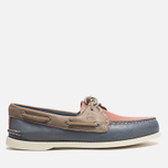 Мужские ботинки Sperry Top-Sider A/O 2-Eye Blue/Red/Beige фото- 0
