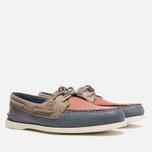 Мужские ботинки Sperry Top-Sider A/O 2-Eye Blue/Red/Beige фото- 1