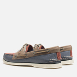 Мужские ботинки Sperry Top-Sider A/O 2-Eye Blue/Red/Beige фото- 2