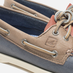 Мужские ботинки Sperry Top-Sider A/O 2-Eye Blue/Red/Beige фото- 7