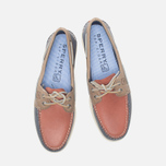 Мужские ботинки Sperry Top-Sider A/O 2-Eye Blue/Red/Beige фото- 4