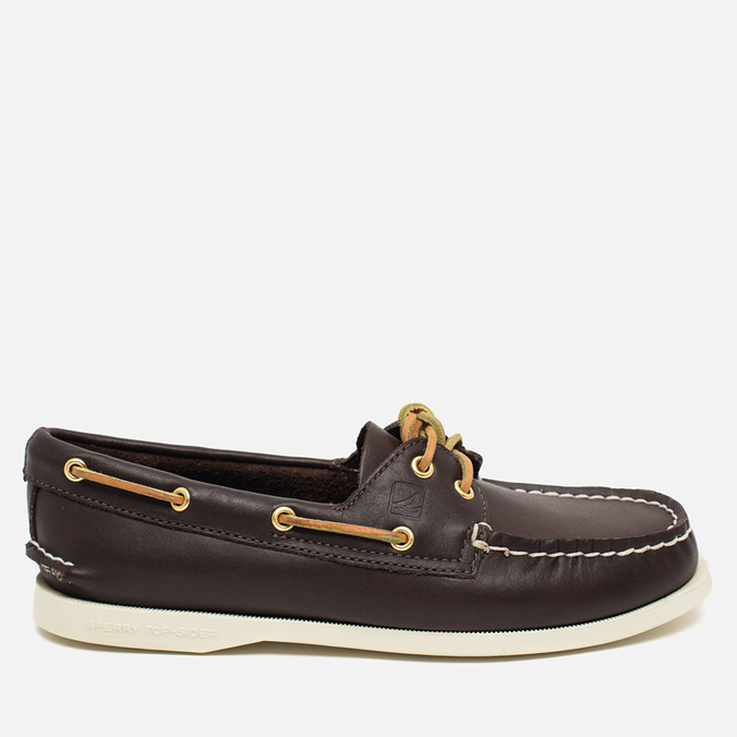 Sperry Top-Sider A/O 2-Eye Women's Shoes Classic Brown