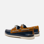 Мужские ботинки Sperry Top-Sider A/O 2-Eye Dark Blue/Tan фото- 2