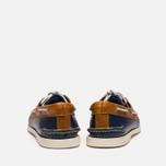 Мужские ботинки Sperry Top-Sider A/O 2-Eye Dark Blue/Tan фото- 3