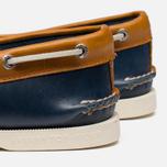 Sperry Top-Sider A/O 2-Eye Shoes Dark Blue/Tan  photo- 6