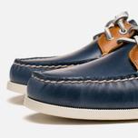Sperry Top-Sider A/O 2-Eye Shoes Dark Blue/Tan  photo- 5