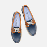 Мужские ботинки Sperry Top-Sider A/O 2-Eye Dark Blue/Tan фото- 4