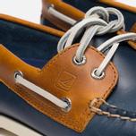 Sperry Top-Sider A/O 2-Eye Shoes Dark Blue/Tan  photo- 7