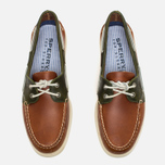 Sperry Top-Sider A/O 2-Eye Men's Shoes Dark Tan/Olive photo- 3