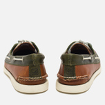 Sperry Top-Sider A/O 2-Eye Men's Shoes Dark Tan/Olive photo- 4