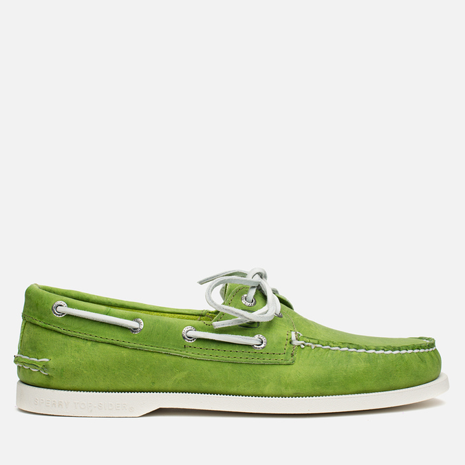 Sperry Top-Sider A/O 2-Eye Echo Men's Shoes Green