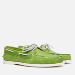 Sperry Top-Sider A/O 2-Eye Echo Men's Shoes Green photo- 1