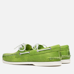 Sperry Top-Sider A/O 2-Eye Echo Men's Shoes Green photo- 2