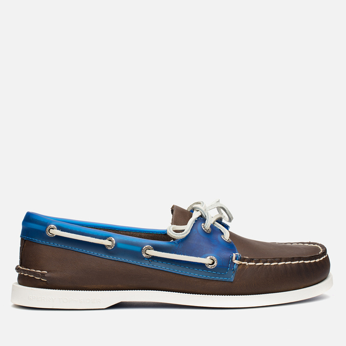 Мужские ботинки Sperry Top-Sider A/O 2-Eye Seaglass Brown/Blue