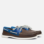 Мужские ботинки Sperry Top-Sider A/O 2-Eye Seaglass Brown/Blue фото- 1