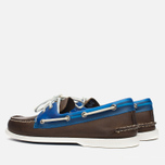 Мужские ботинки Sperry Top-Sider A/O 2-Eye Seaglass Brown/Blue фото- 2