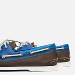 Мужские ботинки Sperry Top-Sider A/O 2-Eye Seaglass Brown/Blue фото- 7