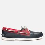 Мужские ботинки Sperry Top-Sider A/O 2-Eye Seaglass Navy/Red фото- 0