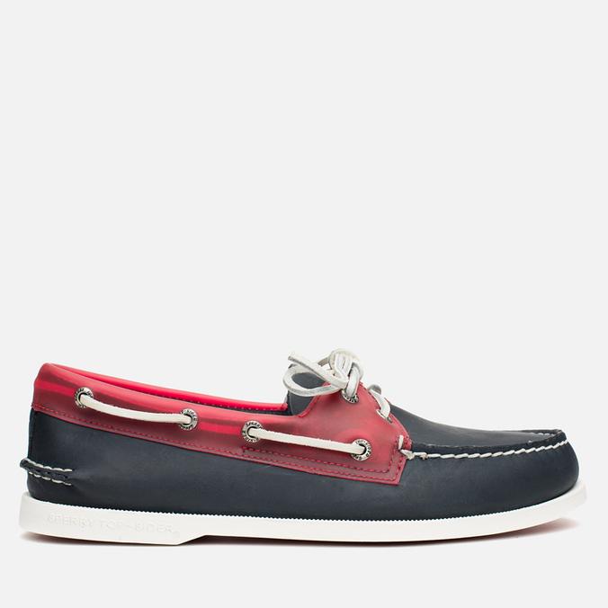 Мужские ботинки Sperry Top-Sider A/O 2-Eye Seaglass Navy/Red