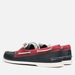 Мужские ботинки Sperry Top-Sider A/O 2-Eye Seaglass Navy/Red фото- 2