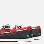 Мужские ботинки Sperry Top-Sider A/O 2-Eye Seaglass Navy/Red фото- 7
