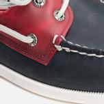 Мужские ботинки Sperry Top-Sider A/O 2-Eye Seaglass Navy/Red фото- 5
