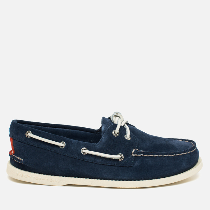 Sperry Top-Sider A/O 2-Eye Men's Shoes Suede Navy
