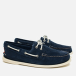 Мужские ботинки Sperry Top-Sider A/O 2-Eye Suede Navy фото- 1