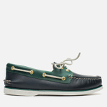 Мужские ботинки Sperry Top-Sider Gold Cup A/O 2-Eye Blue/Green фото- 0