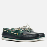 Мужские ботинки Sperry Top-Sider Gold Cup A/O 2-Eye Blue/Green фото- 1