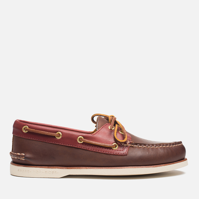 Мужские ботинки Sperry Top-Sider Gold Cup A/O 2-Eye Brown/Red