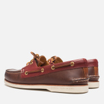 Мужские ботинки Sperry Top-Sider Gold Cup A/O 2-Eye Brown/Red фото- 2