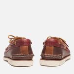 Мужские ботинки Sperry Top-Sider Gold Cup A/O 2-Eye Brown/Red фото- 3