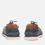 Мужские ботинки Sperry Top-Sider Gold Cup A/O 2-Eye Navy/Tan фото- 3