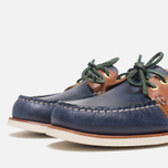 Sperry Top-Sider Gold Cup A/O 2-Eye Shoes Navy/Tan  photo- 5