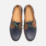 Sperry Top-Sider Gold Cup A/O 2-Eye Shoes Navy/Tan  photo- 4