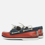 Мужские ботинки Sperry Top-Sider Gold Cup A/O 2-Eye Red/Navy/Grey фото- 2