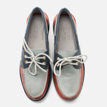 Мужские ботинки Sperry Top-Sider Gold Cup A/O 2-Eye Red/Navy/Grey фото- 4