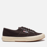 Кеды Superga 2750 Cotu Classic Dark Chocolate фото- 0
