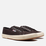 Кеды Superga 2750 Cotu Classic Dark Chocolate фото- 1