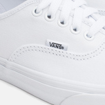 Кеды Vans Authentic True White фото- 5