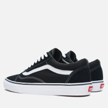 Мужские кеды Vans Old Skool Black/White фото- 2