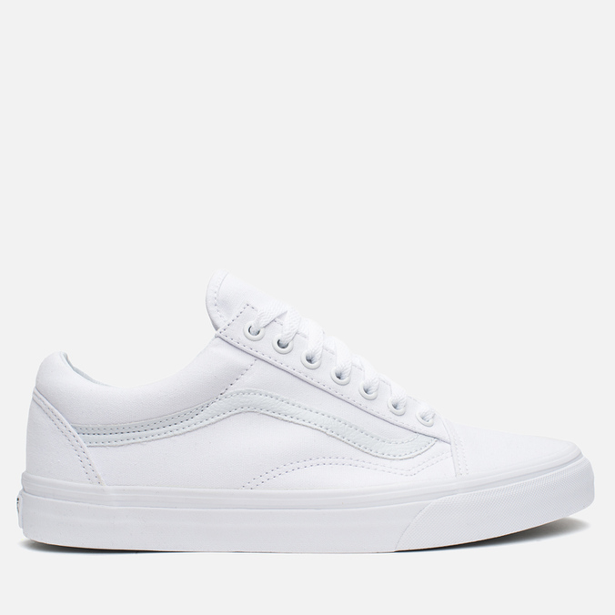 Кеды Vans Old Skool True White