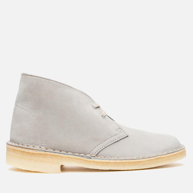 Женские ботинки Clarks Originals Desert Boot Stone Nubuck